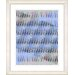 "<strong>Studio Works Modern</strong> ""Pastel Placidus - Blue"" by Zhee Singer Framed Fine Art Giclee Print"
