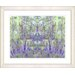 "<strong>Studio Works Modern</strong> ""Summer Land - Purple"" by Zhee Singer Framed Fine Art Giclee Print"