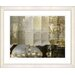 "<strong>""Urban Puzzle - Sepia"" by Zhee Singer Framed Fine Art Giclee Print</strong> by Studio Works Modern"