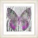 "<strong>""Dusk Butterfly - Pink"" by Zhee Singer Framed Fine Art Giclee Print</strong> by Studio Works Modern"