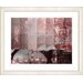"<strong>Studio Works Modern</strong> ""Urban Puzzle - Red"" by Zhee Singer Framed Fine Art Giclee Print"