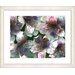 "<strong>""Spring Flowers - Orange"" by Zhee Singer Framed Fine Art Giclee Print</strong> by Studio Works Modern"