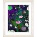 "<strong>Studio Works Modern</strong> ""Dark Plyos - Purple"" by Zhee Singer Framed Fine Art Giclee Print"