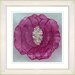 """<strong>""""Crystal Flower - Red"""" by Zhee Singer Framed Fine Art Giclee Print</strong> by Studio Works Modern"""