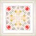 "Studio Works Modern ""Origami Pattern"" by Zhee Singer Framed Graphic Art"