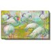 <strong>White Flamingos Gallery Wrapped by Zhee Singer Painting Print on Ca...</strong> by Studio Works Modern