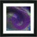 """Purple Tosca"" Framed Fine Art Giclee Print"