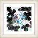 "Studio Works Modern ""Summer Walk Flowers"" by Zhee Singer Framed Graphic Art"
