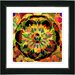 "<strong>Studio Works Modern</strong> ""Sun Yellow Cabochan"" by Zhee Singer Framed Painting Print"