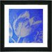 "<strong>Studio Works Modern</strong> ""Tulip"" Framed Fine Art Giclee Print in Blue"