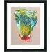 "<strong>Studio Works Modern</strong> ""Flower Bud"" by Zhee Singer Framed Graphic Art"