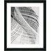 "<strong>Studio Works Modern</strong> ""Dancing Feathers"" by Zhee Singer Framed Painting Print"