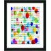 "<strong>Studio Works Modern</strong> ""Quirk Series"" Framed Fine Art Giclee Print in Multi"