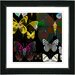 "<strong>Studio Works Modern</strong> ""Amber Butterfly Montage"" by Zhee Singer Framed Graphic Art"