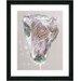 "Studio Works Modern ""Autumn Bud"" by Zhee Singer Framed Painting Print"