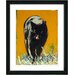 "Studio Works Modern ""Cleo the Cat"" by Zhee Singer Framed Painting Print"