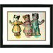 "<strong>Studio Works Modern</strong> ""Cat Family"" Framed Art"