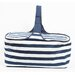 <strong>DEI</strong> Latitude 38 Nautical Stripe Insulated Picnic Basket