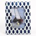 "<strong>DEI</strong> Latitude 38 4"" x 6"" Nautical Rope Capiz Picture Frame"