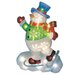 <strong>LED Icy Snowman Lawn Silhouette Christmas Decoration</strong> by Brite Star