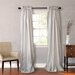 Faux Silk Curtain Panel Pair