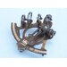 <strong>Antiqued Sextant</strong> by Handcrafted Model Ships