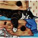 "<strong>En Vogue</strong> 8"" x 8"" Full Drawer Sleepy Cat Tile"