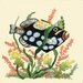 "8"" x 8"" Fish Art Tile in Multi"