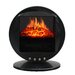 <strong>Oscillating 5115 BTU 120 Volt Desk Top Fireplace Heater</strong> by Stonegate