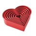 <strong>Cake Boss</strong> 7-Piece Heart Fondant and Cookie Cutter Set