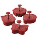 4 Piece Springtime Fondant Press Set