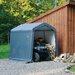 8' x 8' x 8' Peak Style Storage Shed