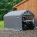 "<strong>6' x 10' x 6'6"" Peak Style Storage Shed</strong> by ShelterLogic"