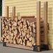 Lumber Rack Firewood Bracket Kit