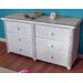 <strong>ElanaMar Designs</strong> Fara 6 Drawer Dresser
