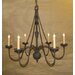 Virginia 6 Light Chandelier