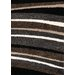 <strong>Shaggy Brown / Tan Stripes Rug</strong> by Kalora