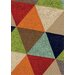<strong>Mara Bold Triangles Rug</strong> by Kalora