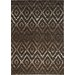 <strong>Sydney Brown Diamonds Rug</strong> by Kalora
