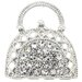 Lady Handbag Crystal Brooch