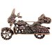 Harley Davidson Motorcycle Sports Crystal Brooch