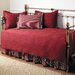 <strong>Stone Cottage Bedding</strong> Daybed 5 Piece Twin Trellis Quilt Set