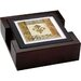 Fleur de Lis 5 Piece Element Ambiance Coaster Gift Set