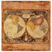 Old Map Occasions Coasters Set