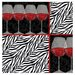 Zebra Wine Occasions Coasters Set