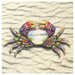 Tapestry Crab Occasions Coasters Set