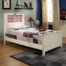 Shaker Twin Panel Bed with Madras and Dolphins Interchangeable HeadLightz