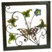 Flower with Butterfly Wall Plaque