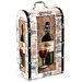 River Cottage Gardens Decorative Wine Suitcase