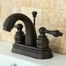 <strong>Restoration Double Handle Centerset Bathroom Sink Faucet with ABS P...</strong> by Kingston Brass